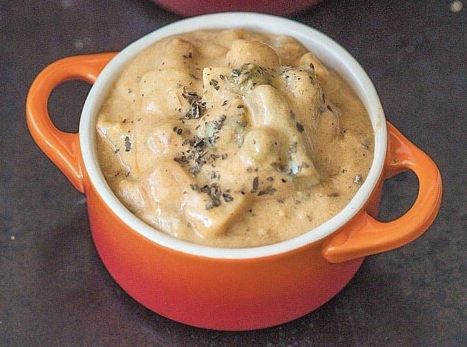 slow cooker vegan vegetable korma