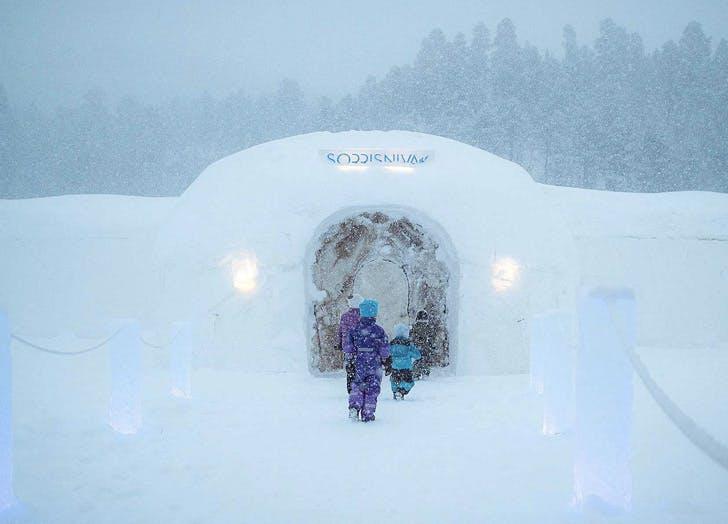 sorrisniva ice hotel