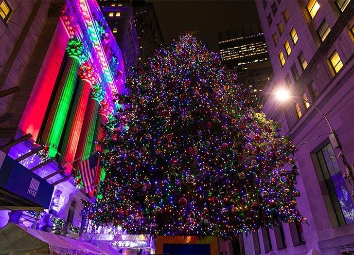 stock exchange tree