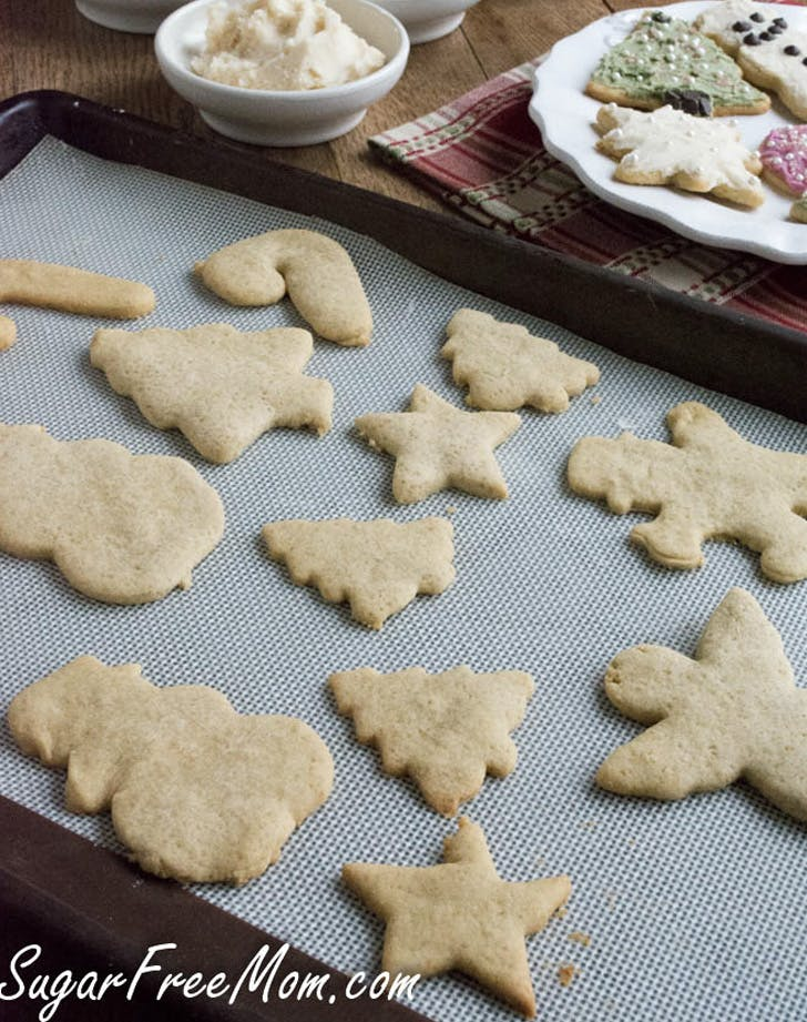 sugarless low calorie sugar cookies recipe