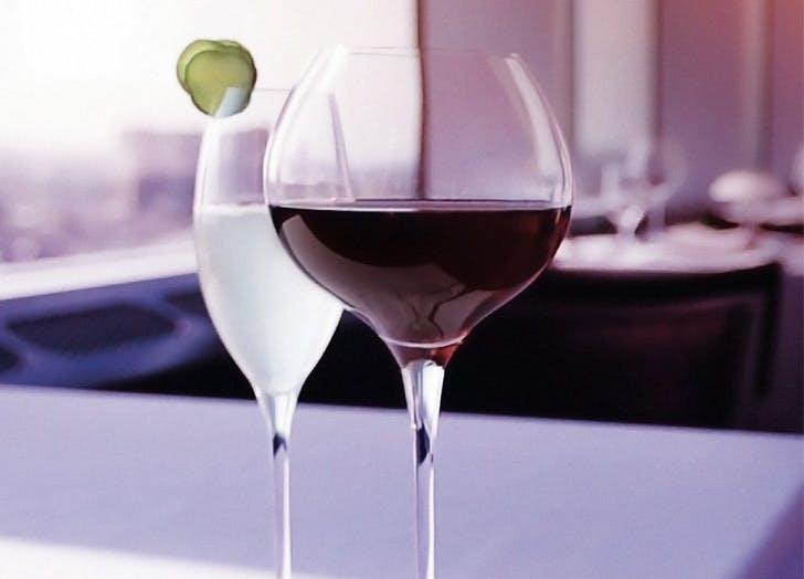 target finds wine glasses
