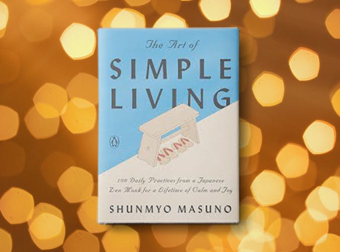 the art of simple living shunmyo masuno2