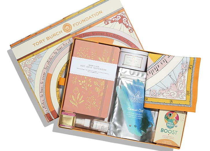 tory burch foundation gift box
