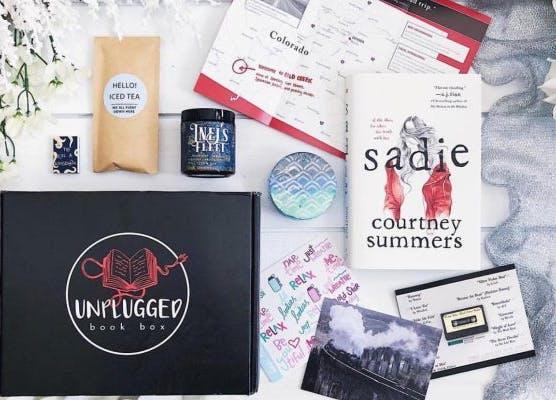 unplugged book box subscription