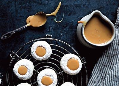 vanilla bean thumbprint cookies recipe 290
