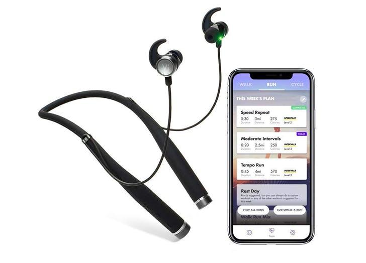 vi personal trainer headphones and app