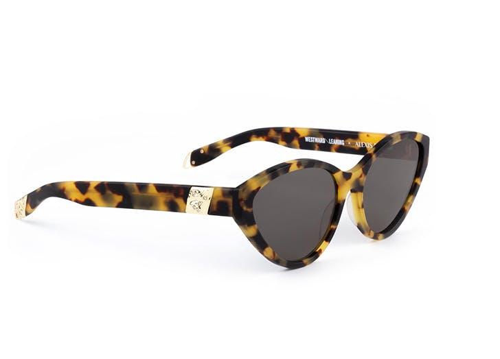 westward leaning alexis bittar sunglasses