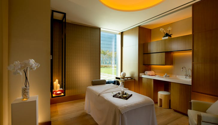 1. Conrad Seoul Spa Single Treatment Room