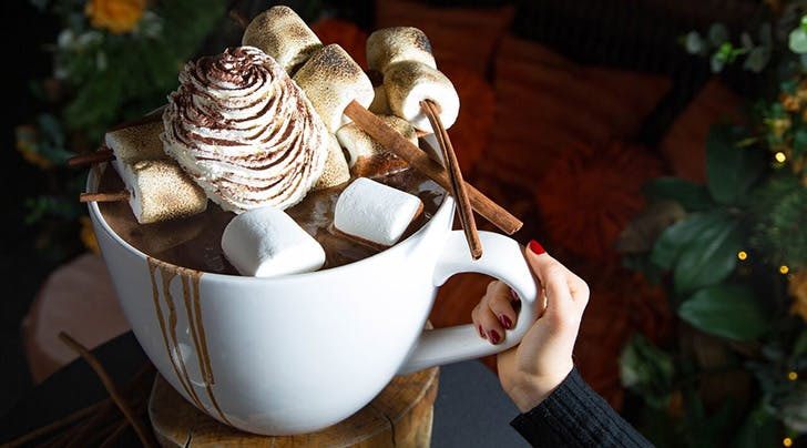 Just a Giant, 20-Pound Cup of Hot Chocolate, Nothing to See Here