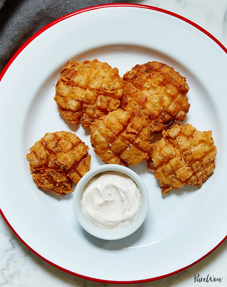 Baby Blooming Onion Recipe