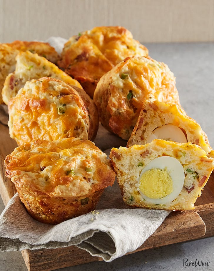 Bacon Egg And Cheese Breakfast Muffins Purewow
