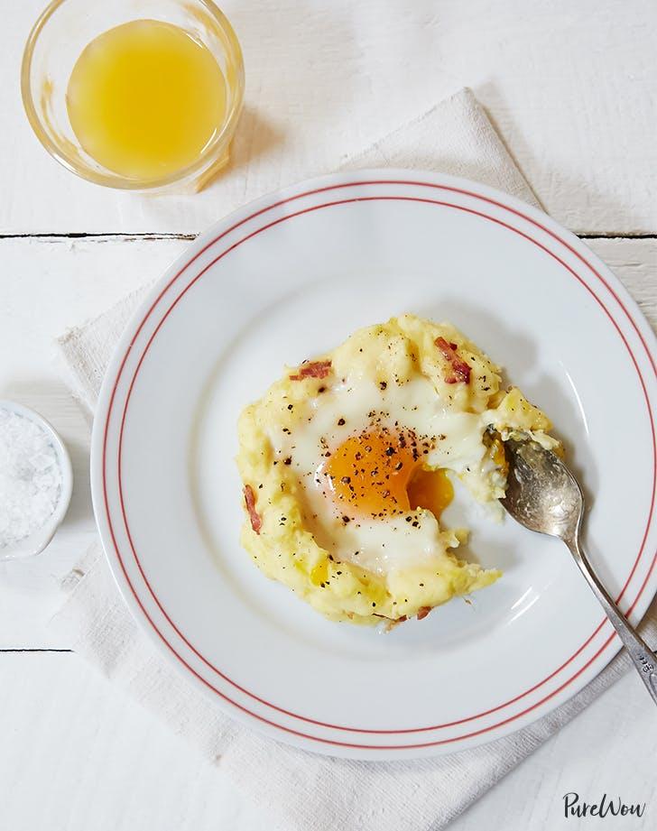 Baked Eggs & Potatoes