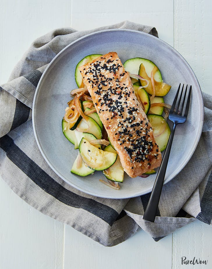 Baked Sesame Ginger Salmon In Parchment Recipe1