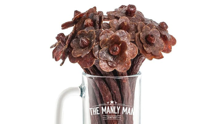 In Peak 2019 News, Valentine's Day Beef Jerky Bouquets Are Now a Thing