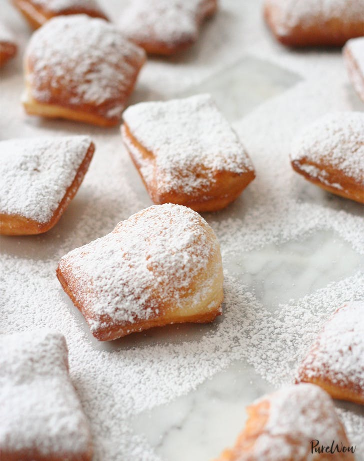 Beignets Recipe New Orleans Style Fried Dough Purewow