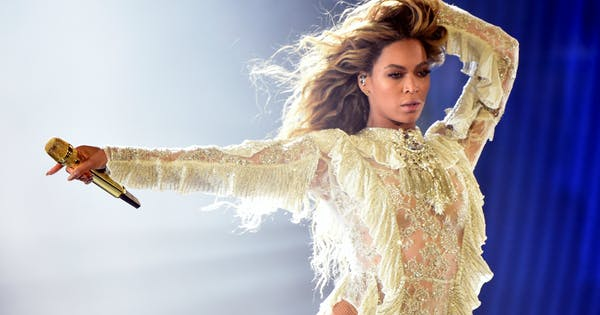 Beyoncé's Vow Renewal Wedding Dress Is a Force to Be Reckoned With