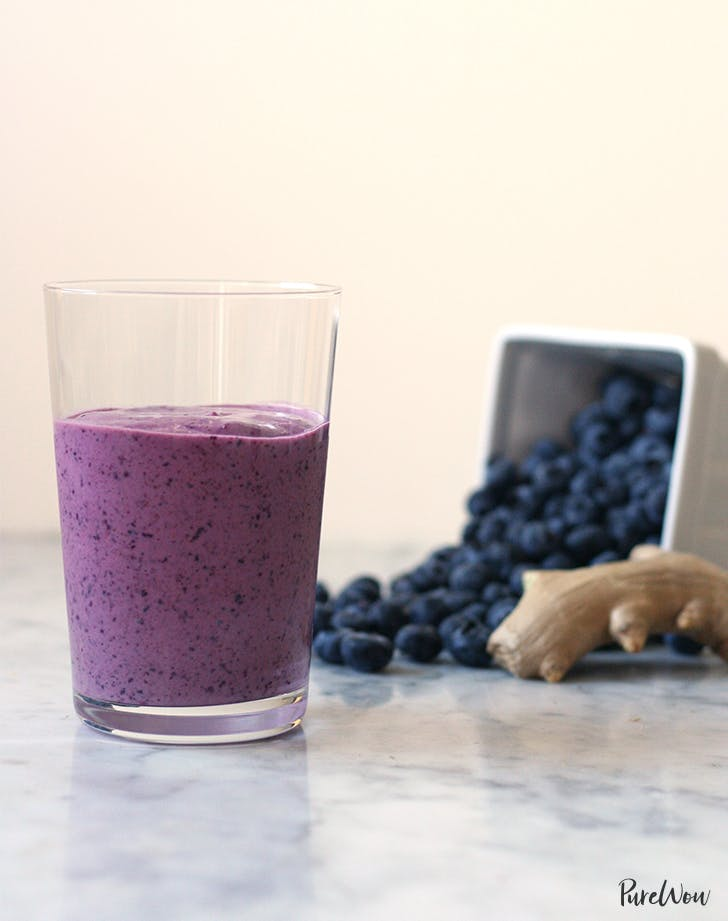 Blueberry Ginger Smoothie Recipe Purewow