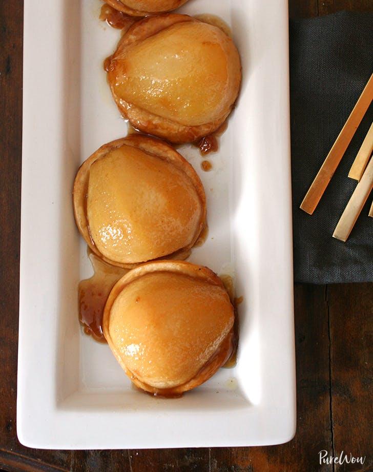 Caramelized Pear Tartlets
