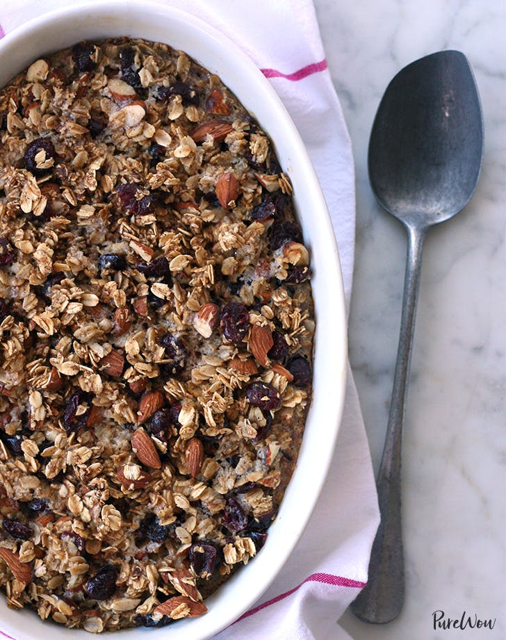 Cherry-Almond Baked Oatmeal