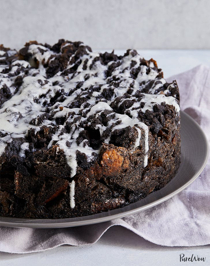 Chocolate Bread Pudding Cake