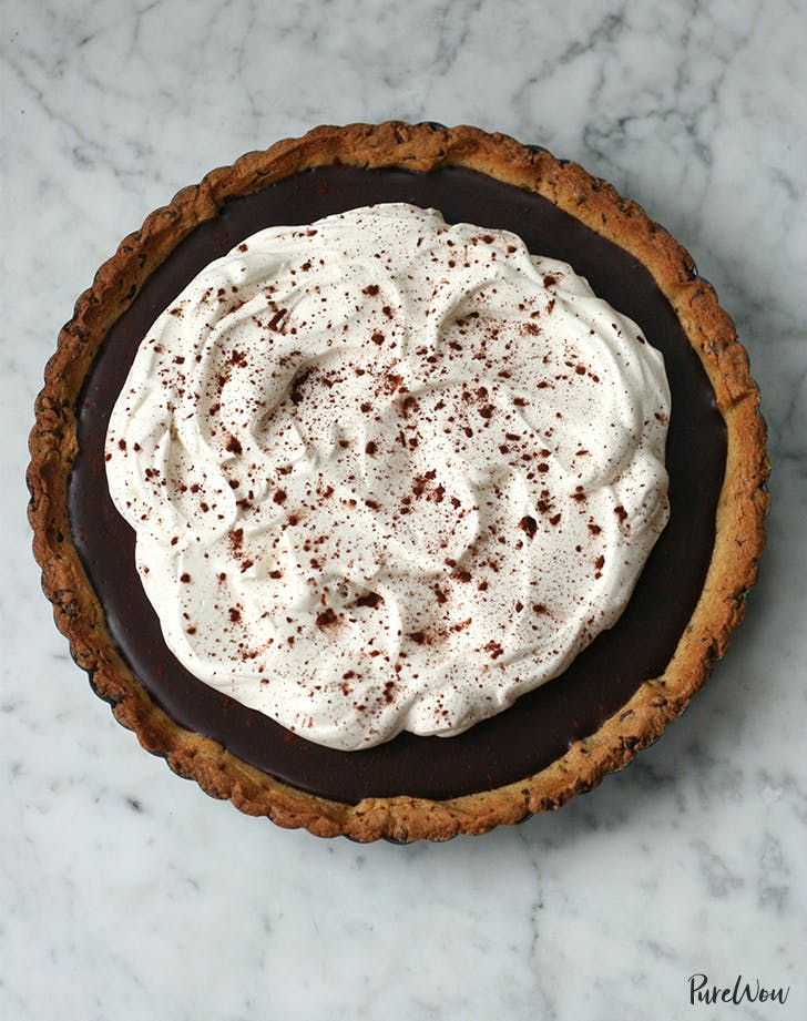 Chocolate-Chip-Cookie Tart Crust