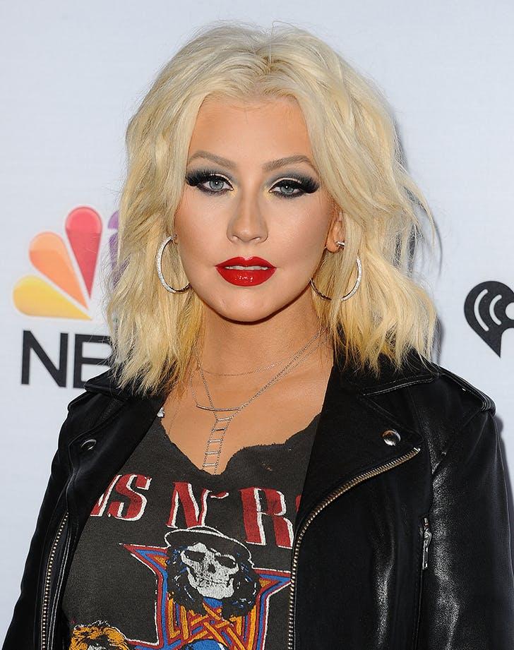 Christina Aguilera Before