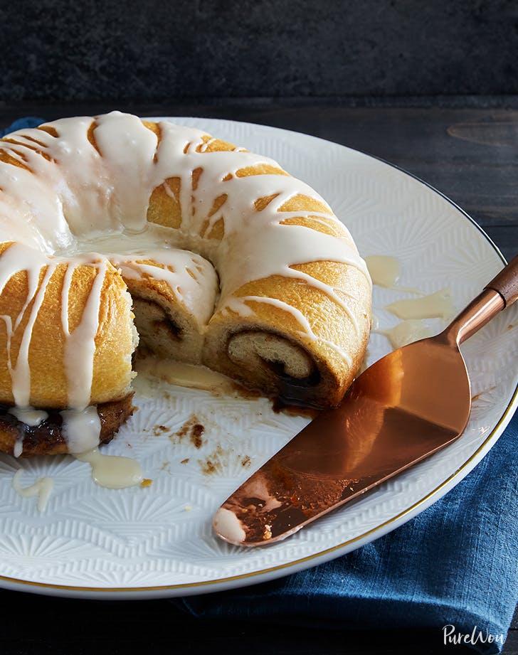 cinnamon roll cake recipe purewow