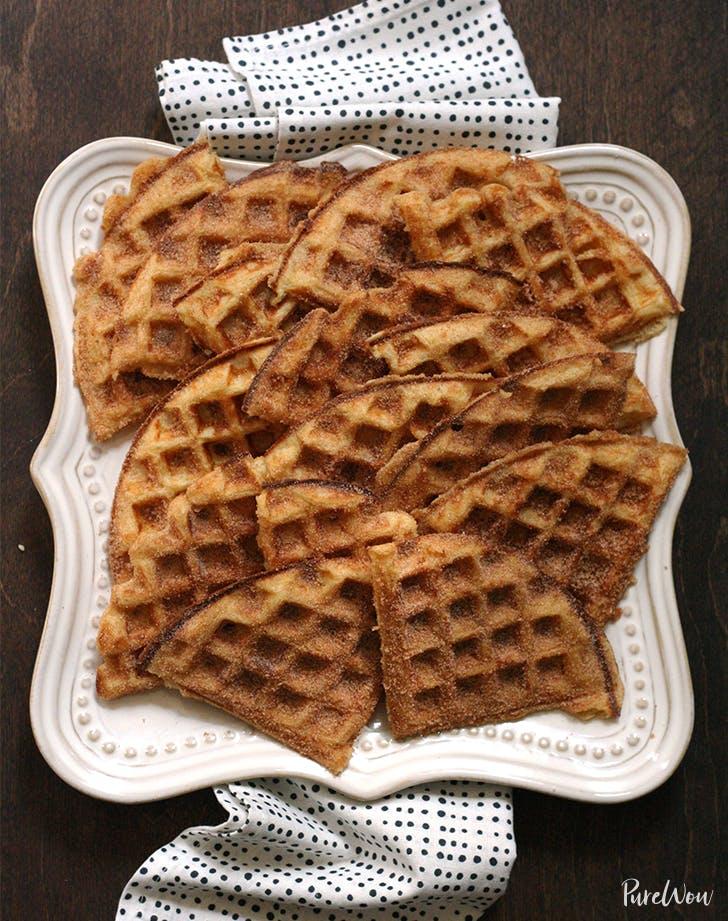 Cinnamon-Sugar Waffles