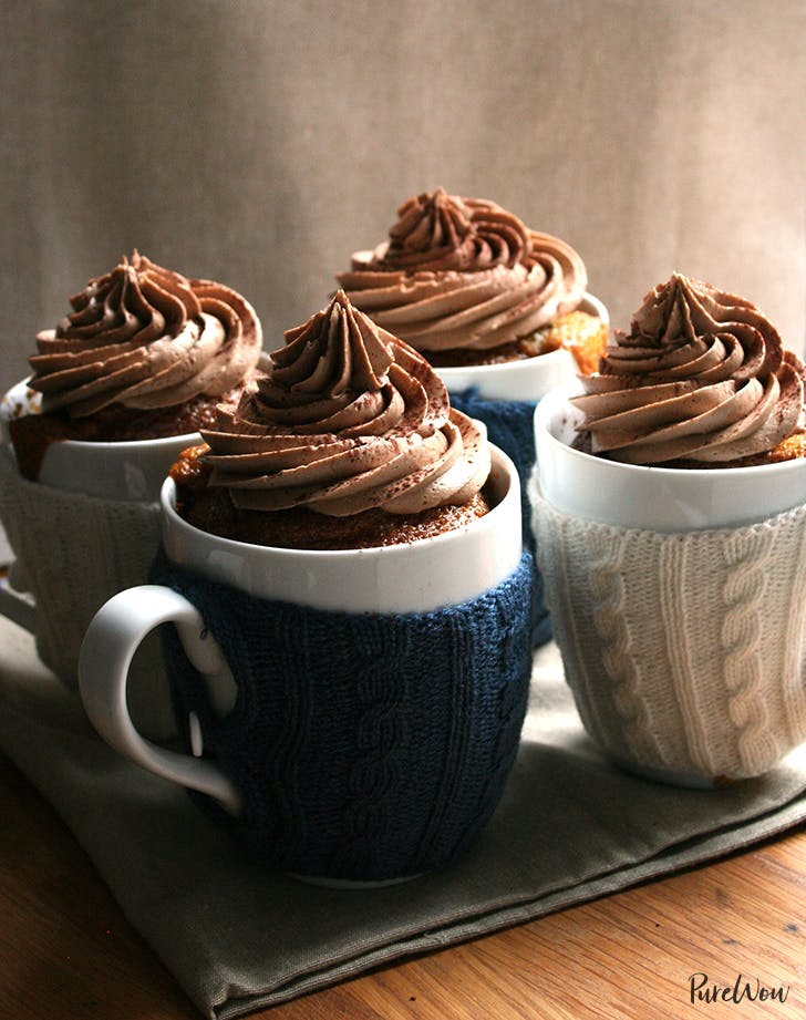 Coffee Cupcakes with Mocha Buttercream