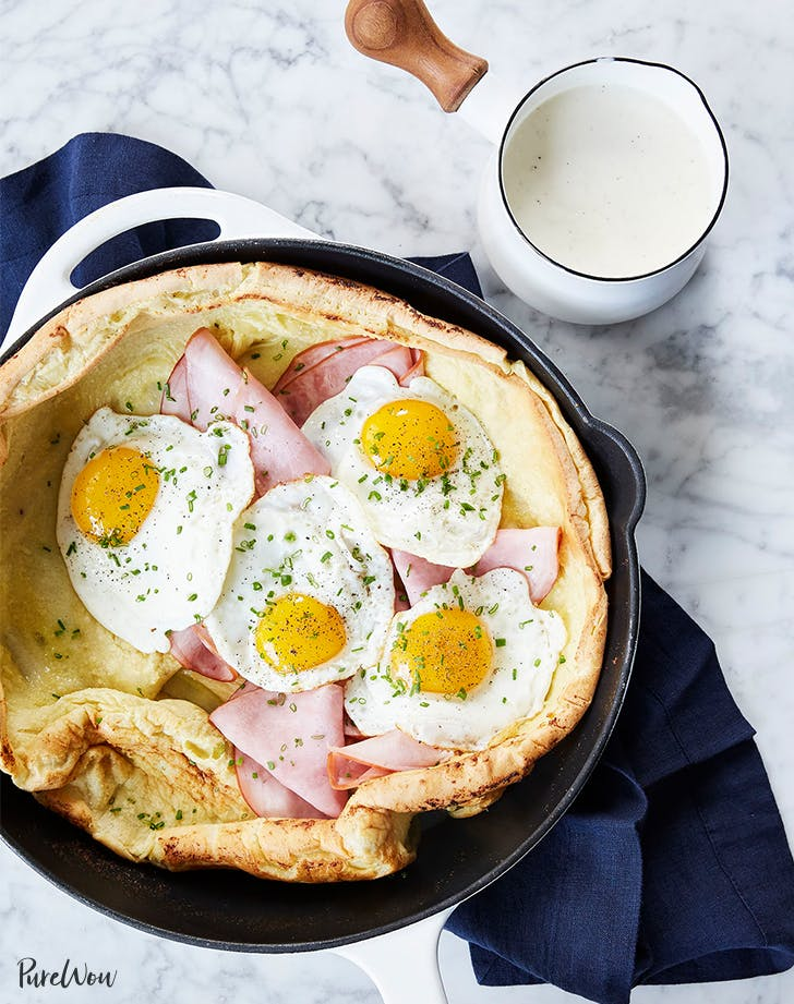 Croque Madame Dutch Baby