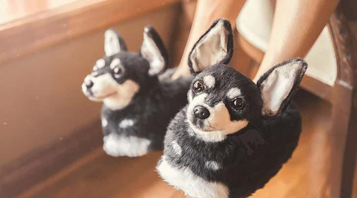 Um, You Can Now Create Custom Slippers That Look Exactly Like Your Dog, and We Need Them ASAP