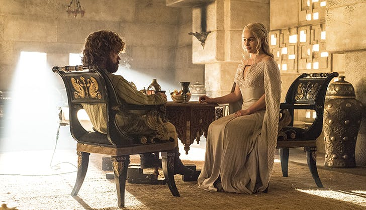 Daenerys Targaryen tyrion lannister