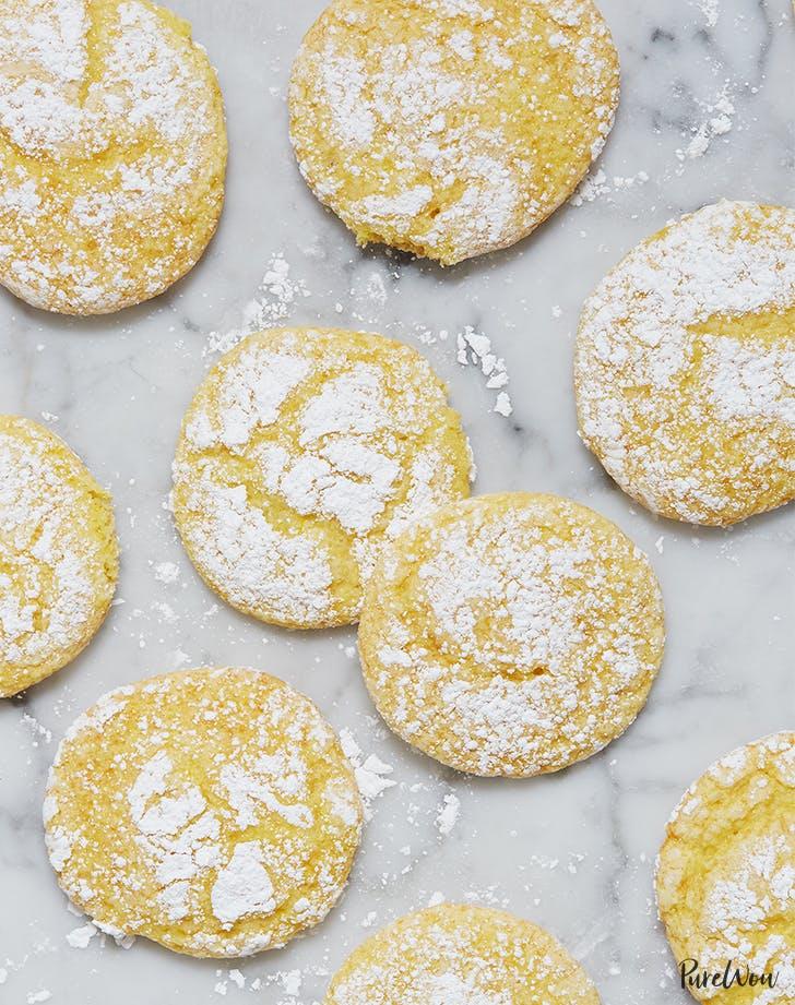 4-Ingredient Lemon Cookies
