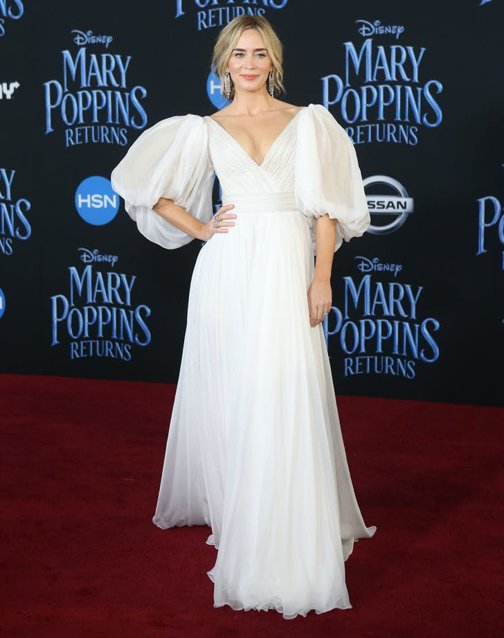 Emily Blunt Yanina Couture gown