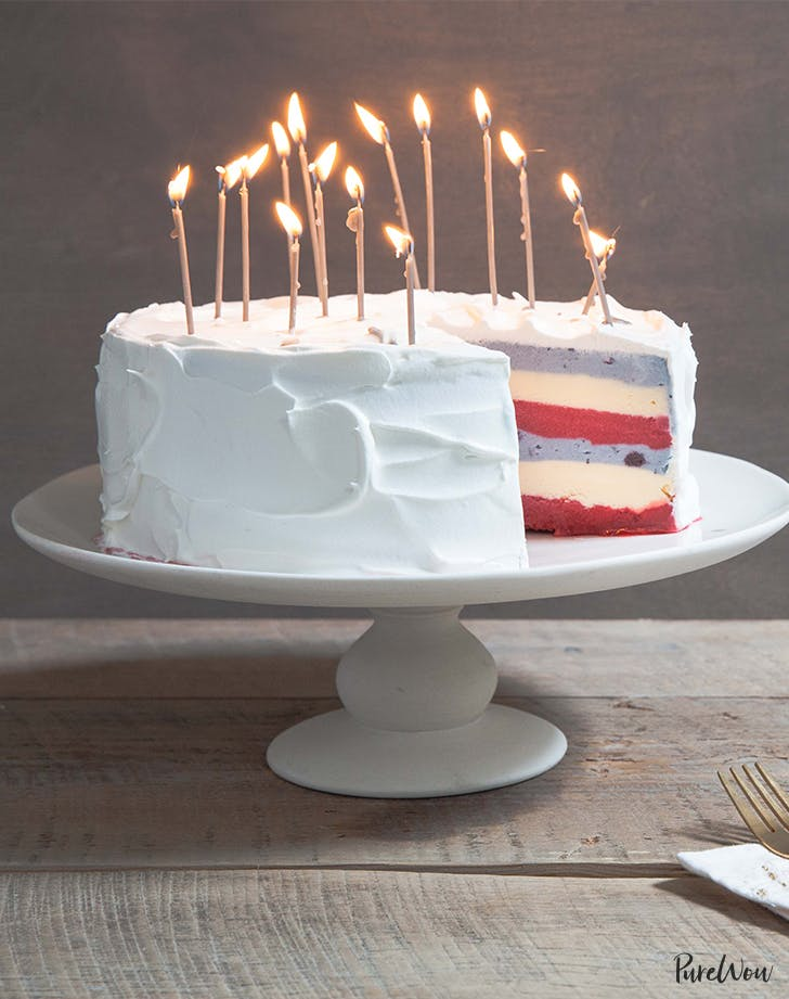 Fourth of July Ice-Cream Cake