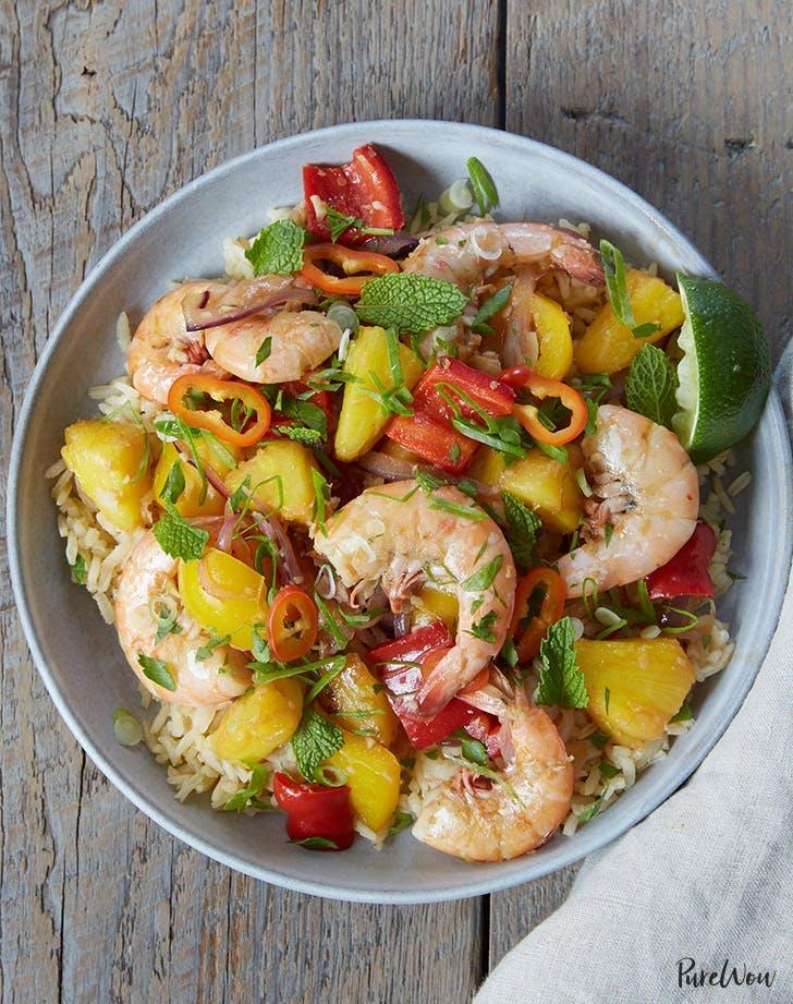 Ginger Pineapple Shrimp Stir Fry Recipe1