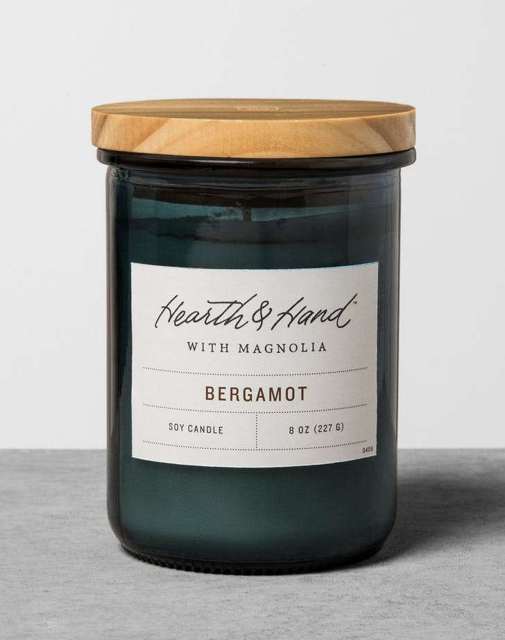 Hearth and Hand Bergamot candle
