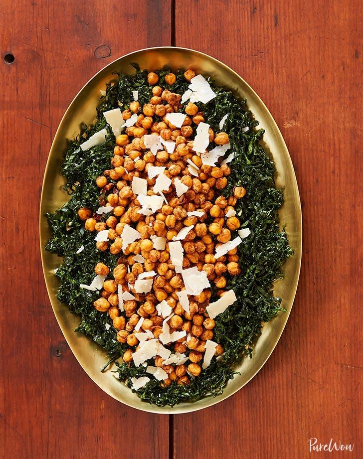 Kale Salad With Crispy Chickpeas Recipe1