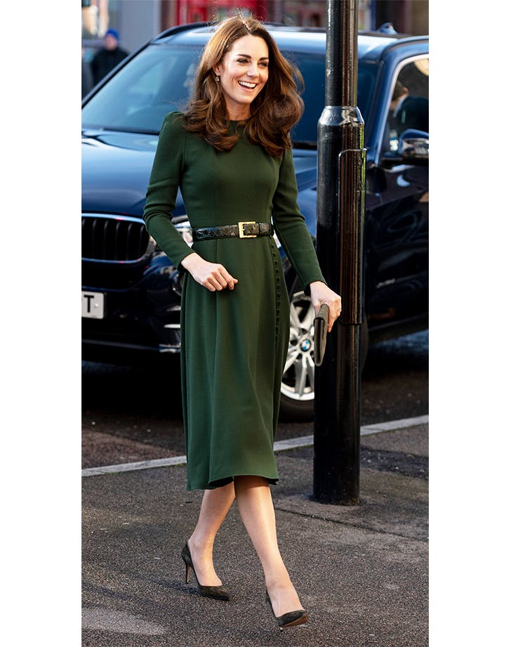Kate Middleton in Beulah dress.l