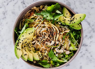 Kelp and Zucchini Noodle Pad Thai recipe 290