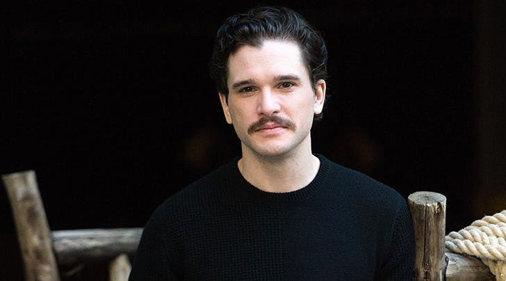 Hey, Guys: Kit Harington Just Debuted a Brand-New '70s 'Stache