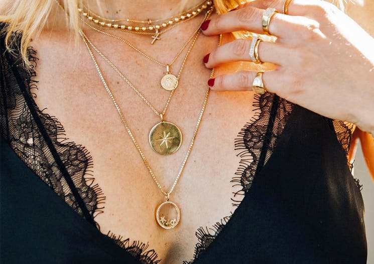 Layered Necklaces Anine Bing
