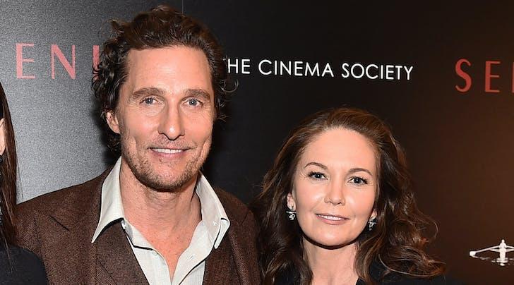 Diane Lane's Response to Learning She Was Matthew McConaugheys First Crush Is Priceless