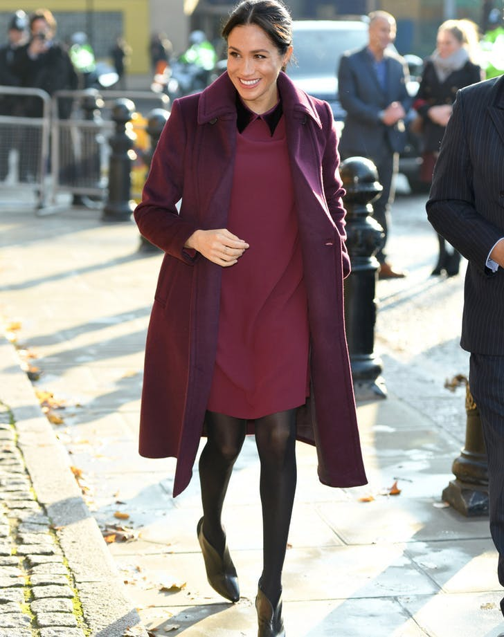 Meghan Markle pre thanksgiving outfit