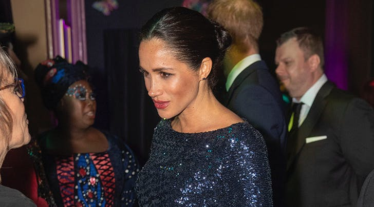 Meghan Markle Just Rocked a Very Un-Meghan-Like Beauty Look