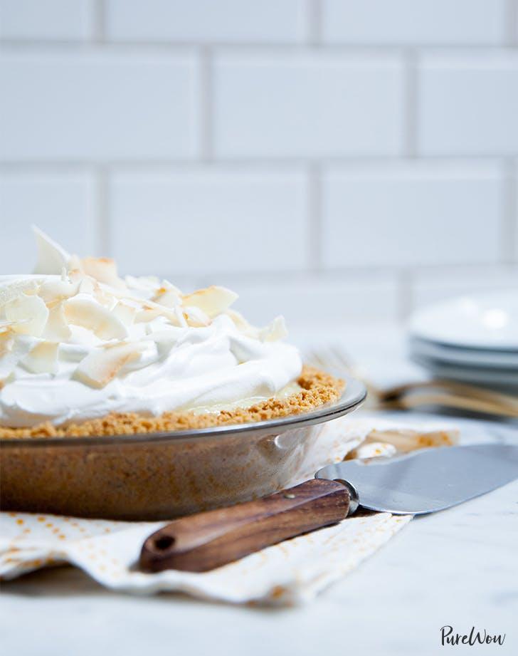No-Bake Coconut Cream Pie