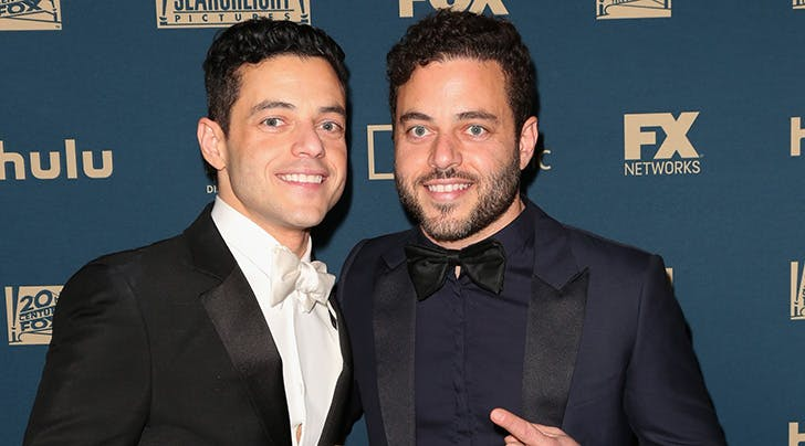 Rami Malek Has an Identical Twin & Our Minds Are Blown