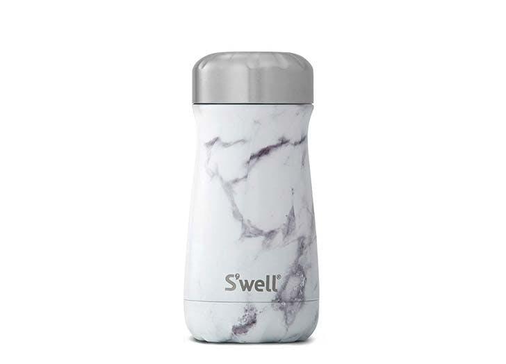 S well stainless steel travel mug