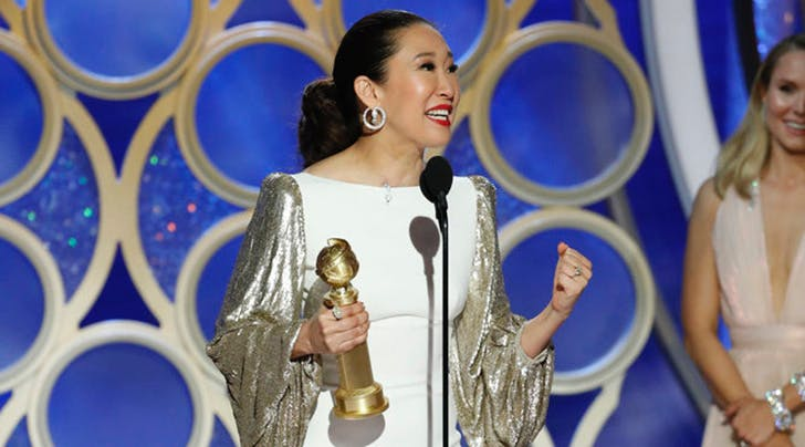 Sandra Oh Had a Historic Golden Globes Night For 2 Major Reasons
