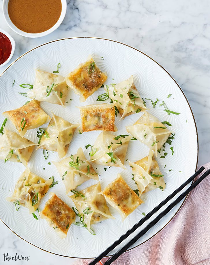 Sausage-and-Egg Breakfast Dumplings